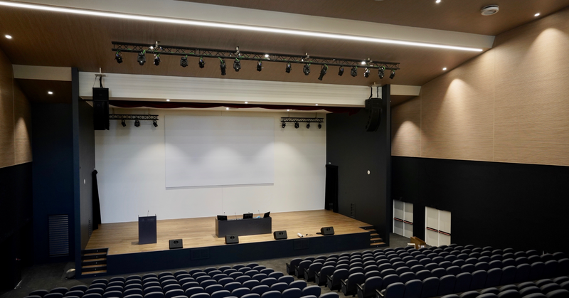 featured image thumbnail for post L'allestimento multimediale di un auditorium